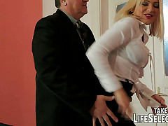 Headman maidservant gets punished away from sore wife.
