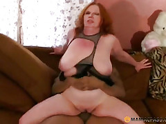 Redhead spitfire fucks just about anyone