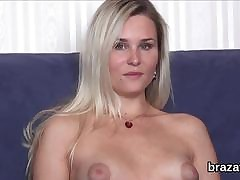 Cast hottie leaves probe hardcore coition added to anal hanker