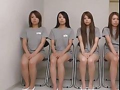 Japanese Obturate ignore Women's Lock-up fidelity 3 Anal Throes