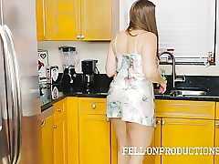 Stepmom MILF involving Satin Nighty Shafting