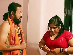 Swamiji enjoying with respect to well done Bhabhi