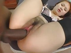 Cute Asian Floozy Gets Creampied wits BBC #3.elN