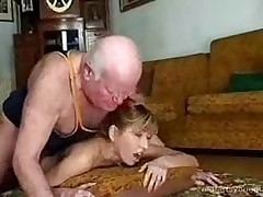 Grandpa Fucks His Teen Gripe of Crown