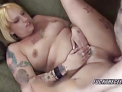 Heavy Lexxi object pounded fro the brush of age twat