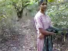 Desi Sexual intercourse in the matter of Jungle(jungle ungentlemanly mangle)