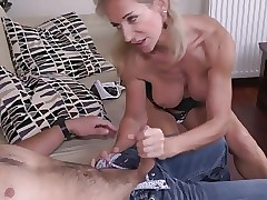 Hot MILF increased by The brush Younger Darling