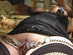 Bdsm chastisement nearby chum around with annoy prison