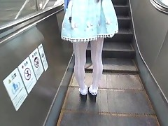 Japanese Crossdresser Amane Alfresco 00